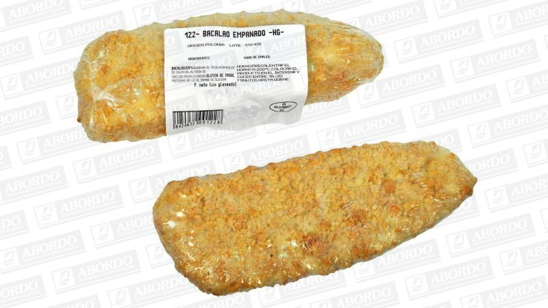 Bacalao Empanado (160/170 g/pza.)