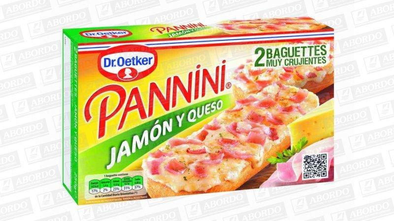 Panninis Jamón y Queso (2x125 g/pza.)
