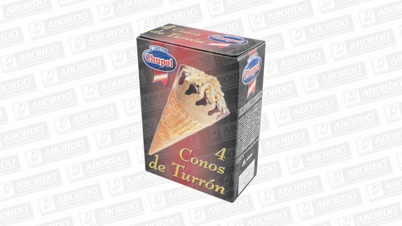Conos de Turrón (4x120 ml)