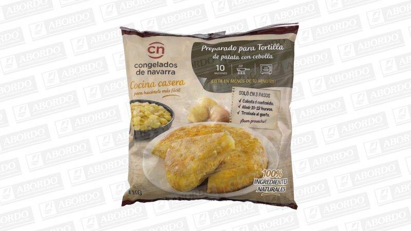 Mezcla para Tortilla de Patata Frita Laminada y Cebolla Frita Cubo